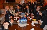 Еднопартиен кабинет на тройна коалиция