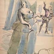 В операта, 1934