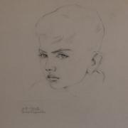 Джони - малкият син на художника-1942