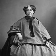 6-George Sand, vers -1865 _ Жорж Санд, около 1865 copy
