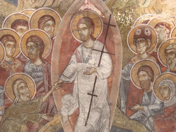 Слизане в ада, Сеславски манастир, XVII в.