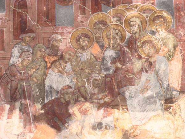Изцеряване на болните, Сеславски манастир, XVII в.