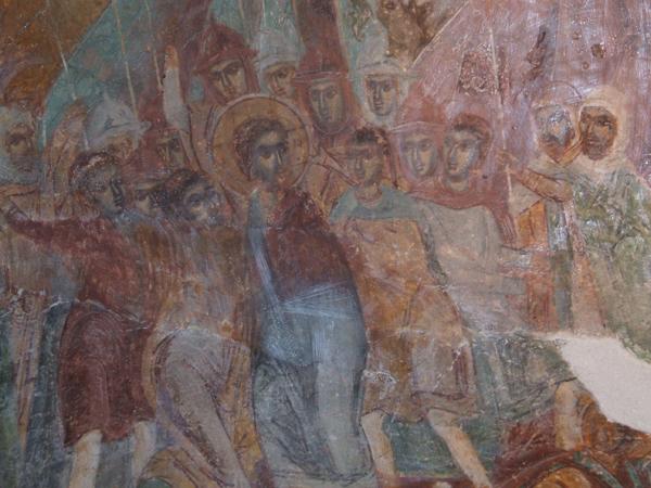 Залавянето на Христос, Илиянски манастир, XVII в.