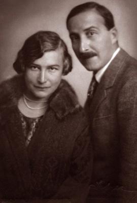 Stefan und Friderike Zweig