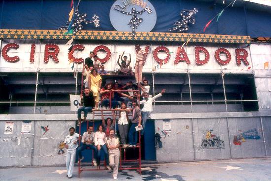 Circo Voador na Lapa1985Foto de Marcio RM