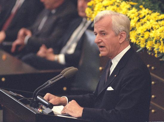 Gedenkstunde zum 40. Jahrestag des Kriegsendes  1985