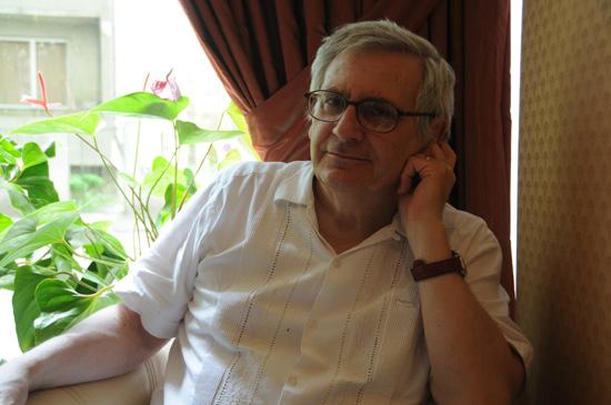 Patrice Pavis_phot. Mihail Baykov