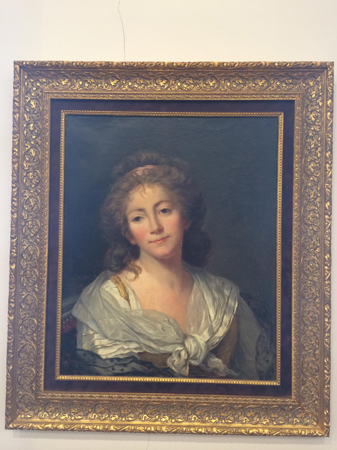 Жан-Батист Грьоз (1725-1805), Франция Портрет на мадам Буеляр