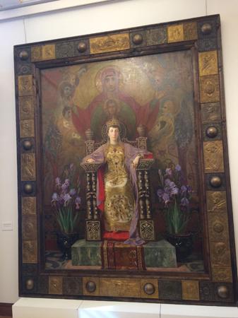 Иван Мърквичка (1856-1938), България Портрет на княгиня Мария-Луиза, 1900