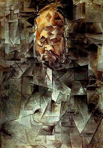 """Портрет на Амброаз Волар. 1910. Държавен музей за изящни изкуства """"Пушкин"""", Москва"""