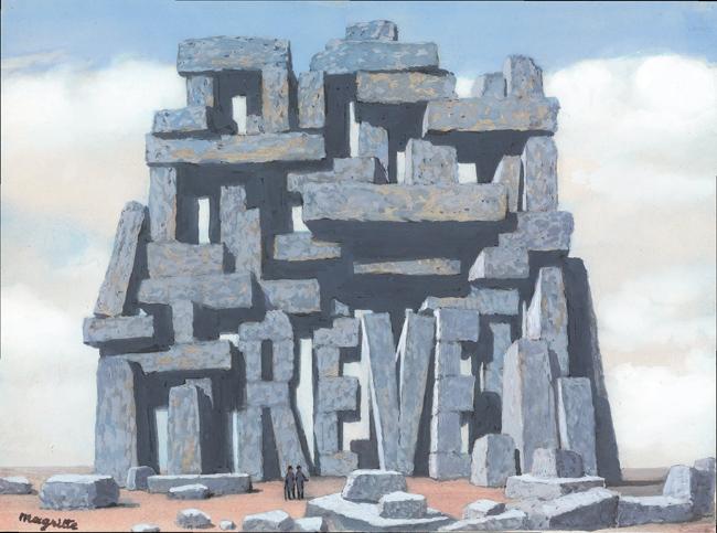 Рене Магрит, Изкуството на разговора, 1955