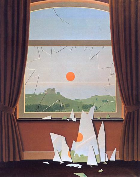 Рене Магрит, Падащият здрач, 1964