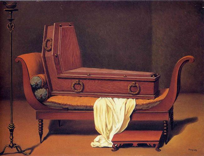 Рене Магрит, Перспектива: Мадам Рекамие от Давид, 1949