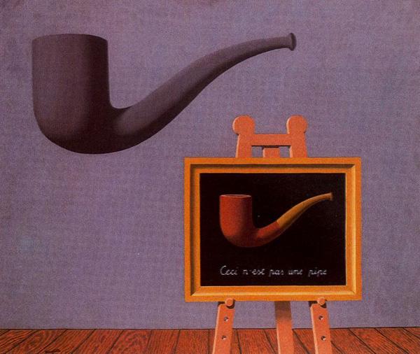 Рене Магрит, Двете тайни, 1966