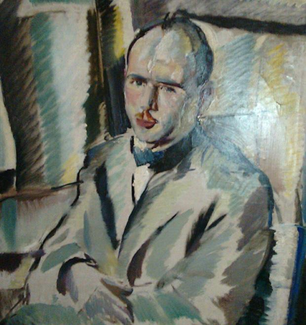 Дечко Узунов, Портрет на Иван Тутев, 1924 г., Мюнхен