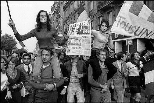 Франция, май-юни 1968 г.