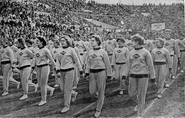 Спартакиада на народите на Съветския съюз, 1956 г.