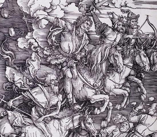 Албрехт Дюрер, Четиримата конници на Апокалипсиса, 1498 г.