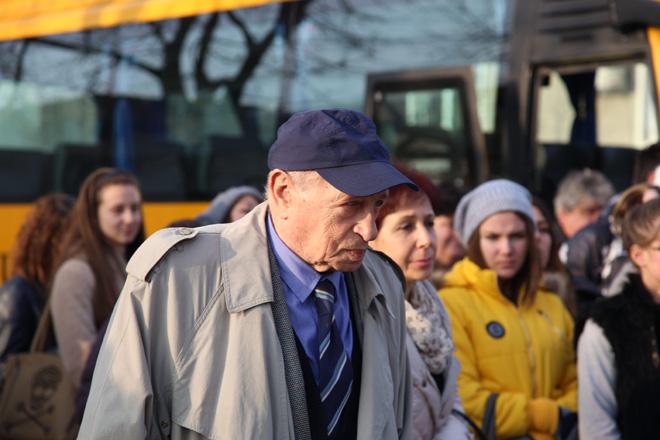Георги Саръиванов по време на един от уроците