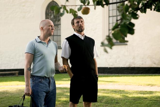 """""""Ябълките на Адам"""", реж. Андерс Томас Йенсен, 2005"""