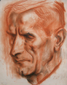 Илия Петров, Портрет на Николай Райнов