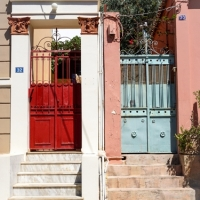 VATOPOULOS-ATHENS-NEOKLASIKA-GATES-AND-FLIGHT-OF-STEPS1-